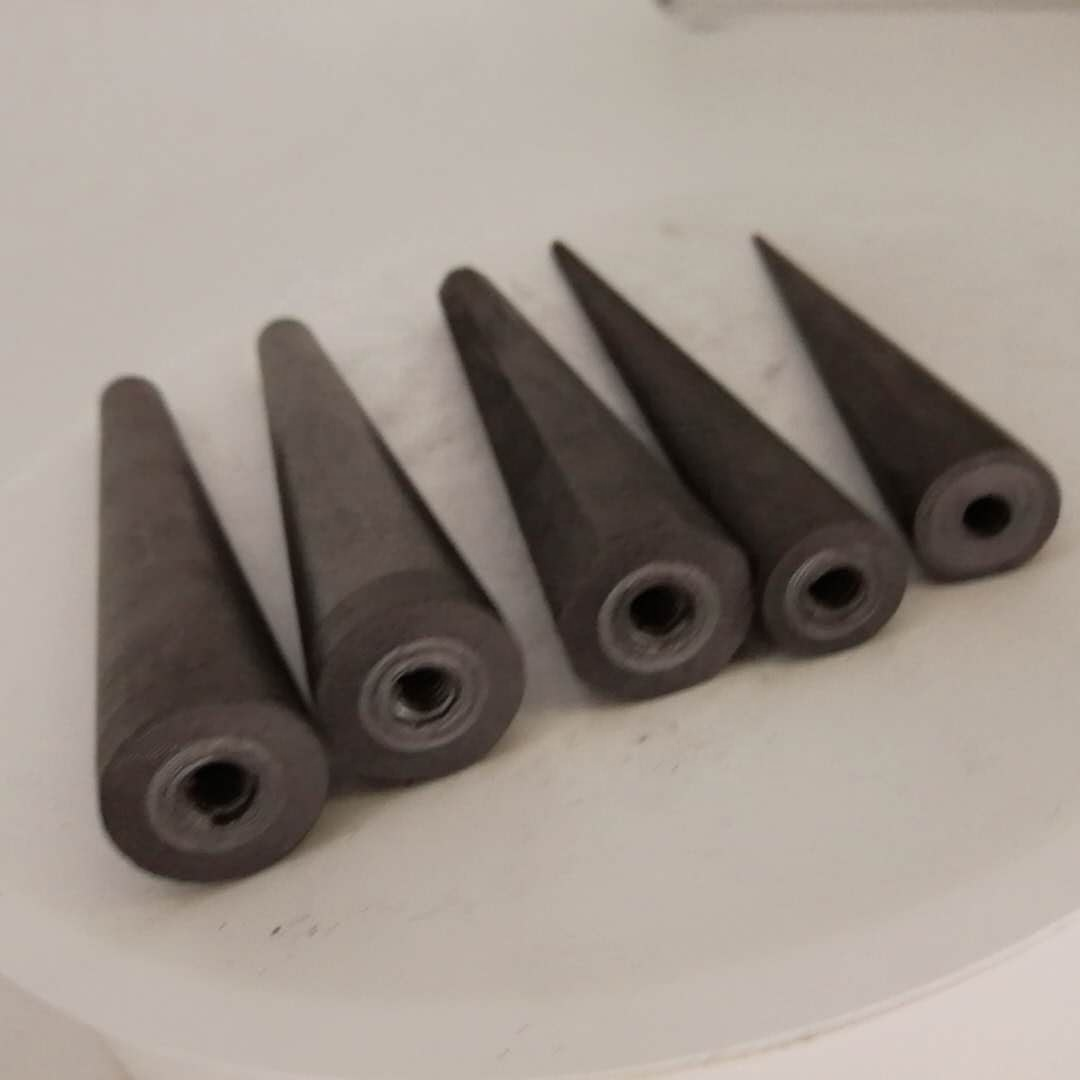 Eight arrises graphite mold for glass applications