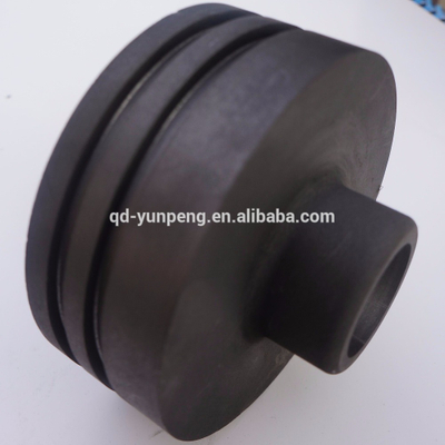 Graphite thrust bearings