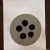 five hole rond graphite die mould for cooper casting round