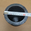 High strength Clay carbide Graphite crucibles for melting cast iron