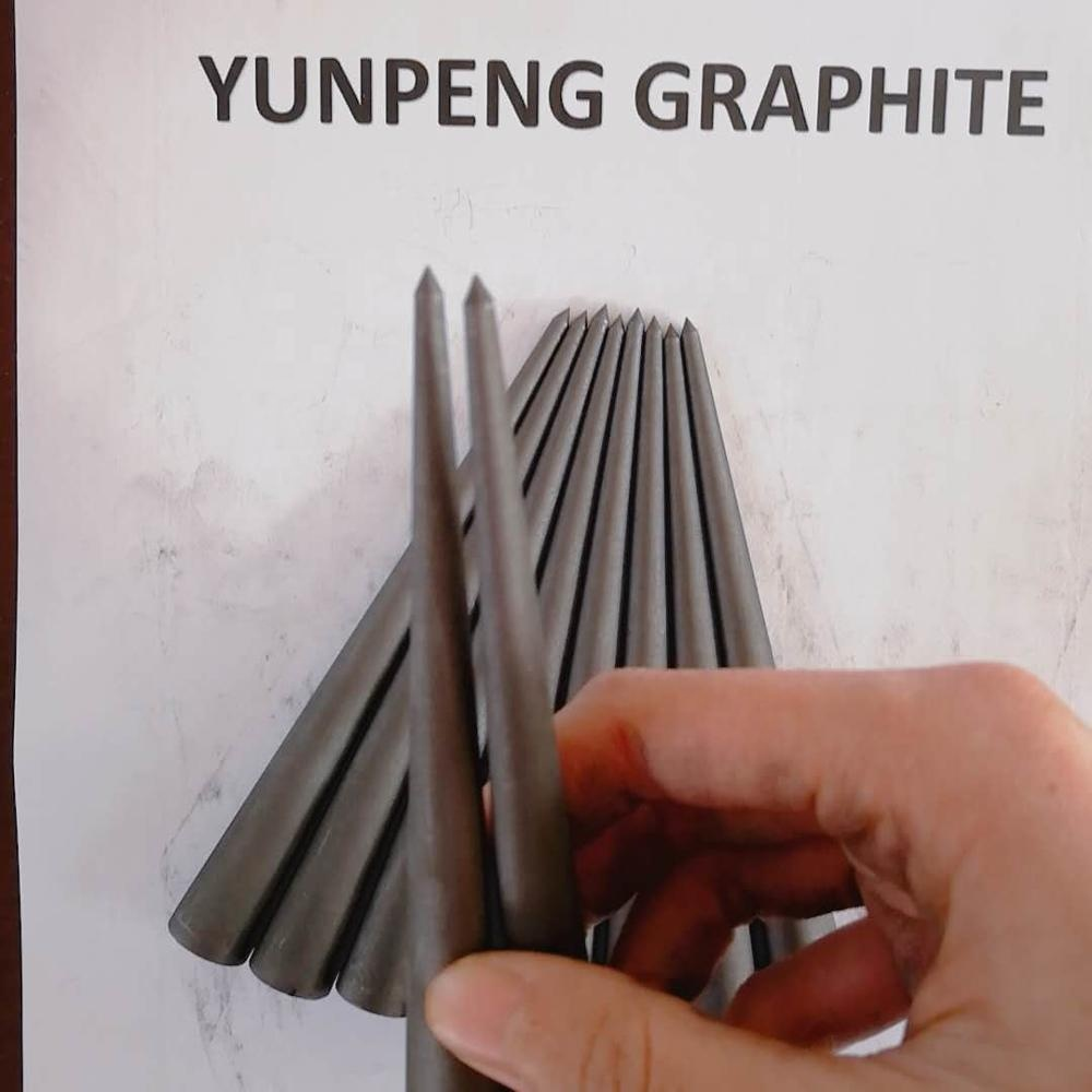 graphite reamer smooth for glass melting